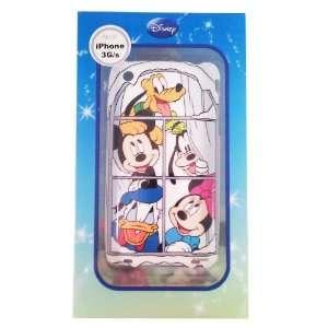 Disney ® Mickey Minnie Donald Goofy Pluto HARD BACK PIECE