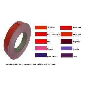 Low Profile High Gloss Vinyl Film Orange, Red, Pink, and
