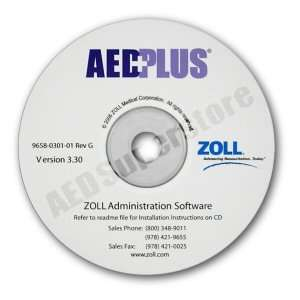 for AED PLUS Unit Configuration   8000 0311 01