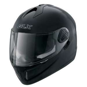 Motorcycle Helmet Full Face Glossy Black Helmet: Sports