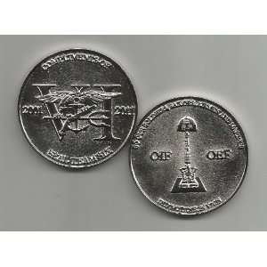 US Navy Seal Team VI Challenge Coin Everything Else