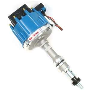 Flame Thrower Race Distributor HEI with Blue Cap for Ford Small Block