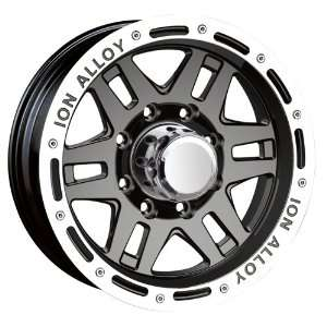 16x8 ION Alloy Style 133 (Black) Wheels/Rims 5x114.3 (133
