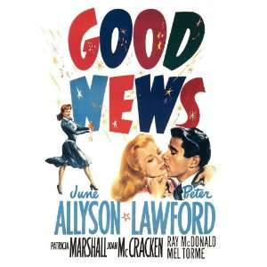 Good News Movie Poster (27 x 40 Inches   69cm x 102cm) (1947) Style B