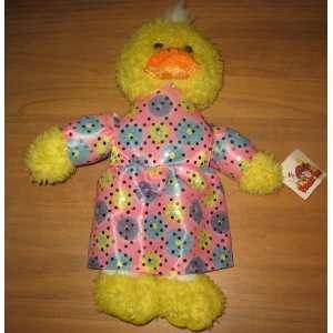 Funny Farm Girl Duck In Dress Plush Animal: Everything