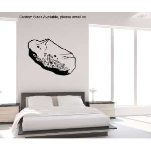Vinyl Wall Decal Sticker Space Rock size 28inX36in item OS