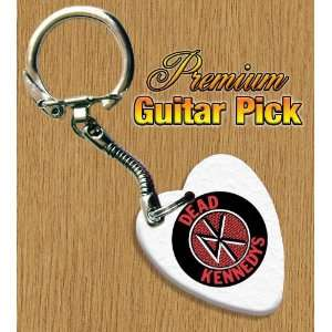 Dead Kennedys Keyring Bass Guitar Pick Both Sides Printed