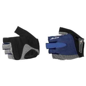 Avenir Comfy Gel Short Finger Gloves Medium Royal Blue