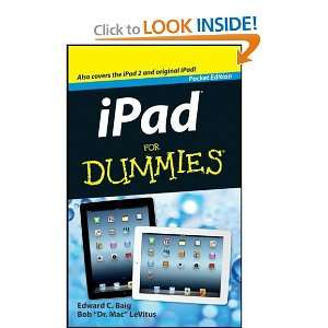 iPad for dummies [Paperback]: Edward C. Baig: Books