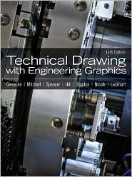 Technical Drawing with Engineering Graphics, (0135090490), Frederick E