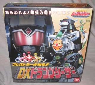 Rangers DX Dragon Caesar Dragonzord Boxed zyuranger Morphin