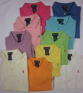 Girls POLO RALPH LAUREN Polo shirts Designer tops Baby   13 years NEW
