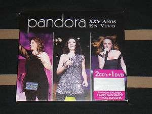 XXV Anos En Vivo 2011 (2 CDs + 1 DVD) NEW Thalia, Flans Yuri Años
