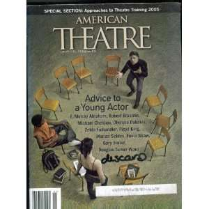 Theatre. January 2005. Single Issue Magazine. Advice to a Young Actor