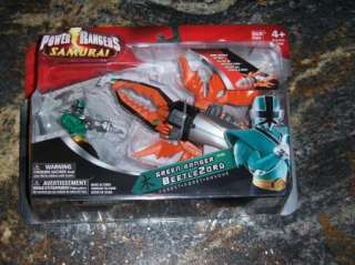 Green BeetleZord Power Rangers Samurai Beetle Zord HTF
