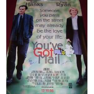 Youve Got Mail Tom Hanks Meg Ryan   Beautiful Hand Signed Autographed
