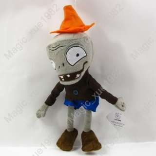 figures of Plants Vs Zombies samll zombie soft toy |