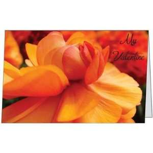 Valentines Day Love Spouse Husband Flower Wife Greeting Card (5x7) by