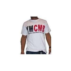 YMCMB White T Shirt Lil Wayne Drake Size 2X Large Sports