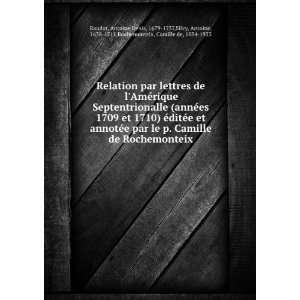 Relation par lettres de lAmérique Septentrionalle (annà