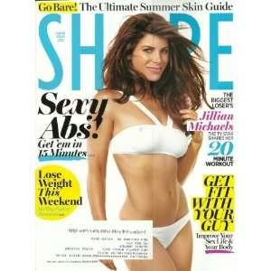 Shape Magazine May 2011 The Biggest Losers Jillian Michaels: Editors