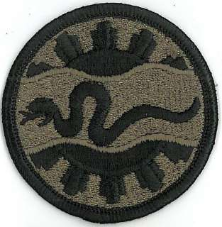 US Army Armored Cavalry Regt 116th ACR subdued patch x1