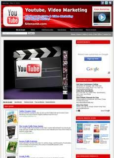 Money Making YOUTUBE VIDEO MARKETING Websites Business