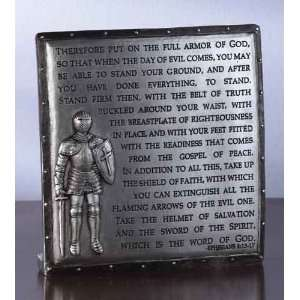Armor of God Desktop Plaque Ephesians 6 Home & Kitchen