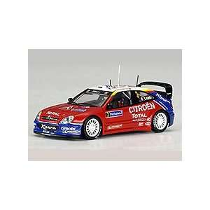 2004 Citroen XSARA WRC #3 Rally Turkey Winner Die Cast