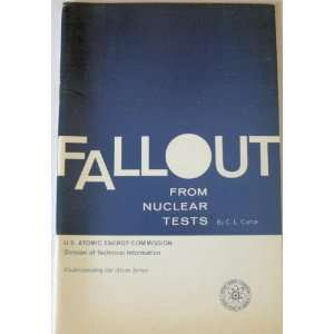 Fallout from nuclear tests (U.S. Atomic Energy Commission