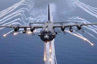 USAF LOCKHEED AC 130 AC 130H SPECTRE AC 130U SPOOKY GUNSHIP WOOD