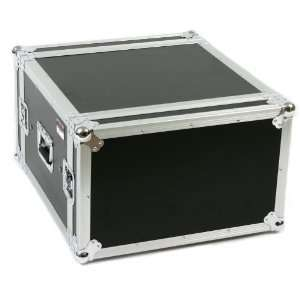 6U) ATA Rack Amp Road Shock Mount Case (20 Deep) Musical Instruments