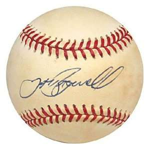 Jeff Bagwell Autographed / Signed Baseball (James Spence