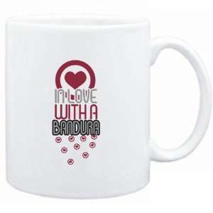 : Mug White  in love with a Bandura  Instruments: Sports & Outdoors
