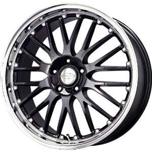 Privat Netz Gloss Black Machined Wheel (19x8/5x100mm