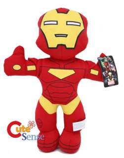 Marvel Heroes Iron Man Plush Doll   14in SEGA