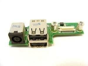 Dell Inspiron 1525 DC Power Jack/USB Board 48.4W006.011