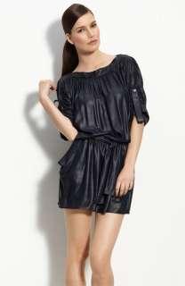 NEW* BCBG Margie Pacific Blue Woven Dress M $178