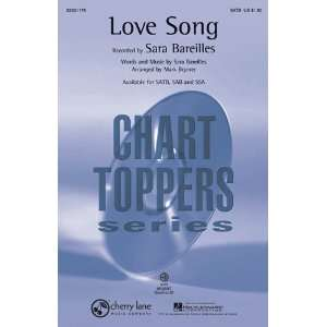 Love Song   SSA Sheet Music Musical Instruments