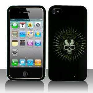 Cuffu   Cross Skull   Apple iPhone 4 Case Cover + Screen