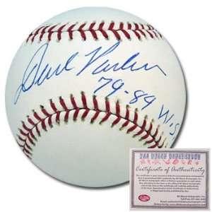 Pirates Hand Signed Rawlings MLB Baseball with 78 & 89 WSC Inscription