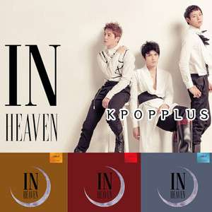 In Heaven [RED / BROWN / BLUE] (1st Album) [CD+Booklet+Poster+Socks