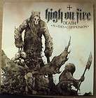 HIGH ON FIRE DEATH THIS COMMUNION 2LP 500 OLIVE GREEN
