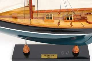 Many High Quality Wooden Display Model Sailboats & Yachts.