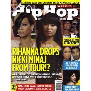 Hip Hop Weekly   Rihanna Drops Nicki Minaj From Tour!? Cynthia Horner