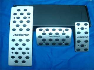 automatic Pedal peds set for Honda ACCORD with ACCORD logo 1set