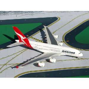 Gemini Jets Qantas A380 800 Model Airplane: Everything