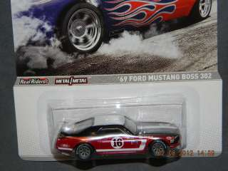 2012 HOT WHEELS RACING MUSCLE 69 FORD MUSTANG BOSS 302 HOTWHEELS HW