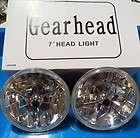 RED DOT TRI BAR LIGHT HEADLIGHTS STREET ROD PRISMATIC REFLECTIVE