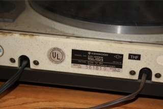 You are bidding on a Kenwood KD 2055 Belt Drive Automatic Return